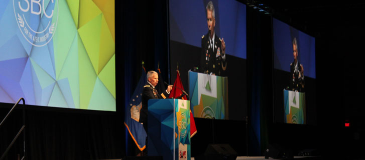 Lt. Gen. Todd Semonite, P.E., USA, at 2018 SAME Federal Small Business Conference in New Orleans