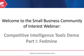 <p><strong>Competitive Intelligence Tools Demo Part I Fedmine</strong></p>