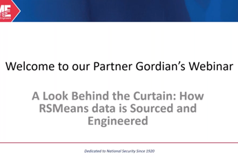 <p><strong>A Look Behind the Curtain</strong><br>How RSMeans data is Sourced and Engineered</p>