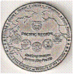 Pacific Region Vice </br>President Coin - Back