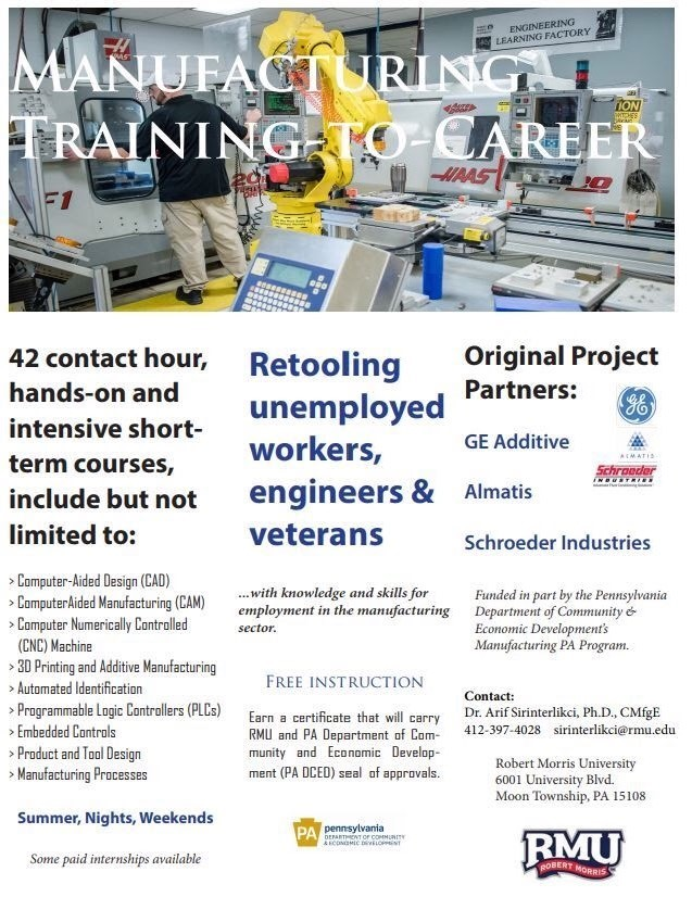The Manufacturing PA Training-to-Career Program for Unemployed Veterans