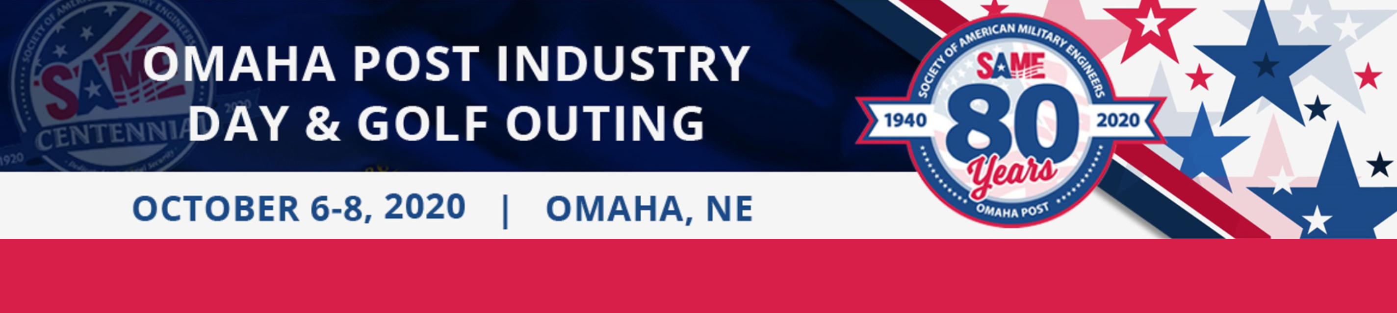 2020 SAME Omaha Post Industry Day Banner